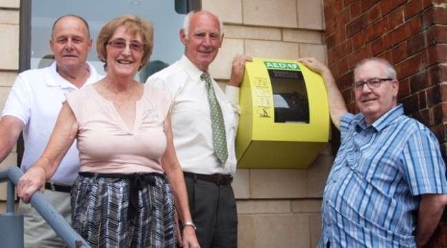 Life-saving equipment has been set up in Spalding